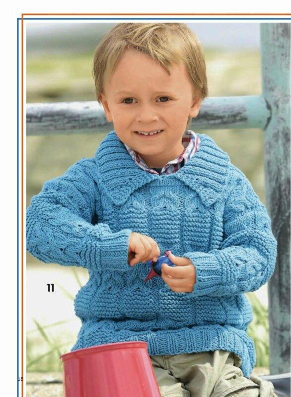"""Скачатьс Turbobit.net.  Журнал по вязанию  """"Сабрина.  Вязание для детей """" представляет обширную коллекцию вязаной..."""