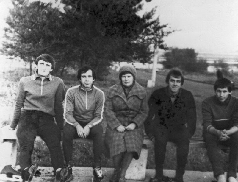 1982г. Гришин В.,Шварцман Ю.,Дьячкова М.И.,Беляков В.