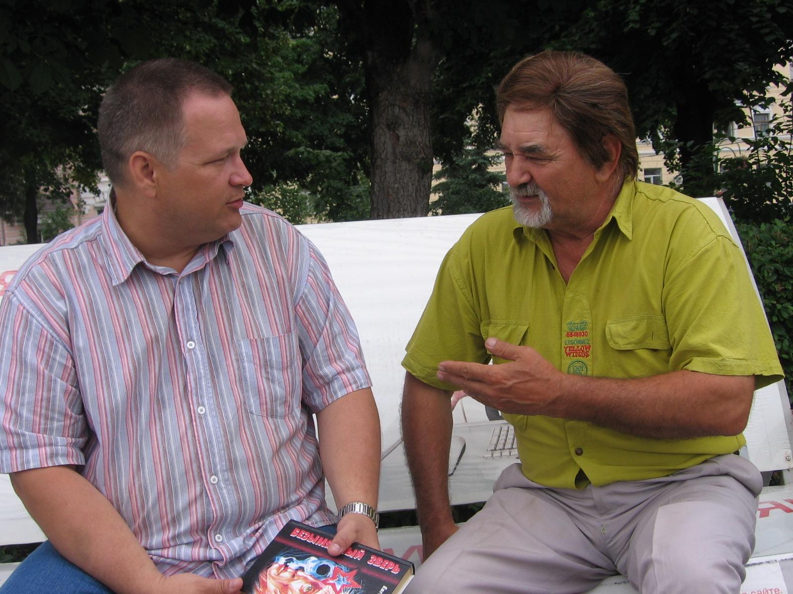 Евгений Чебалин и Виктор Гужов