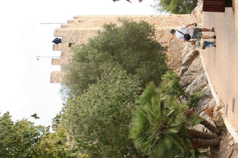Капдепера - крепость