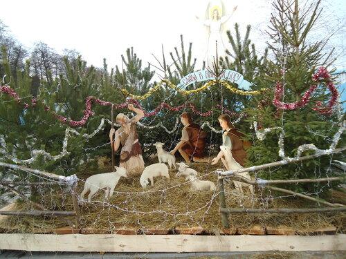 Украина. Источник Святой Анны перед Рождеством