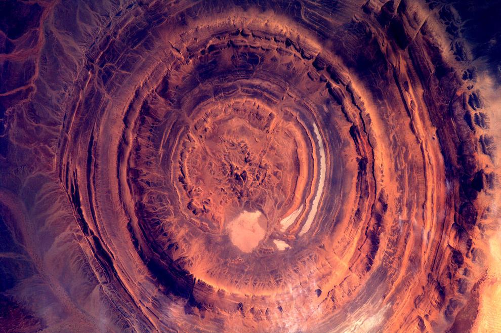 Земля из космоса космонавта Андре Куиперса