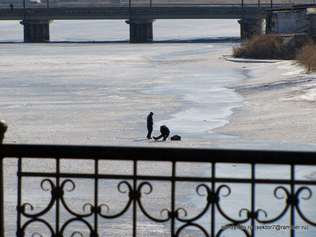 Река (Троицк, фото Троицка, Челябинская область)