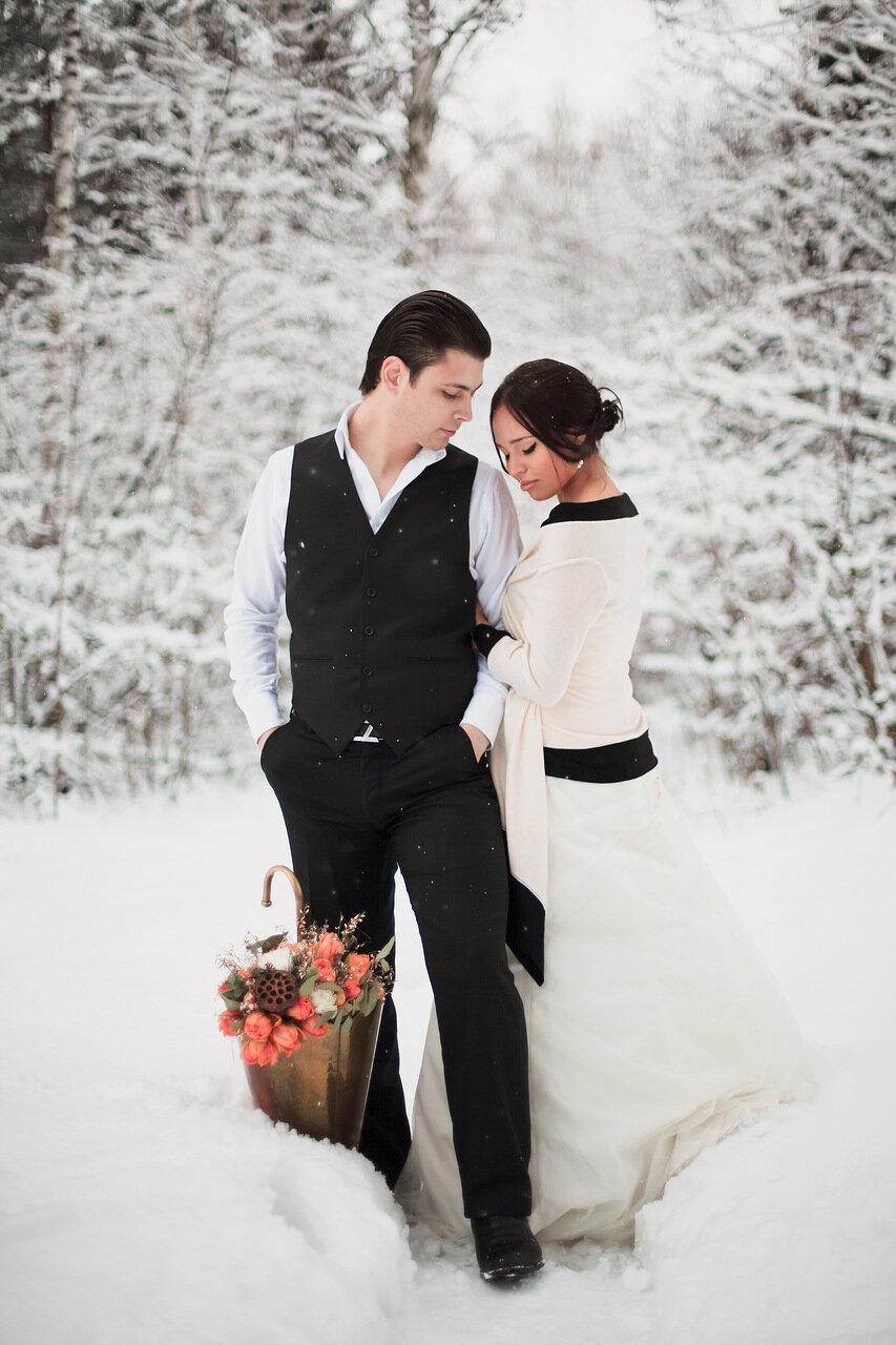 недавно казалось, зимняя свадьба в лесу фото ничего