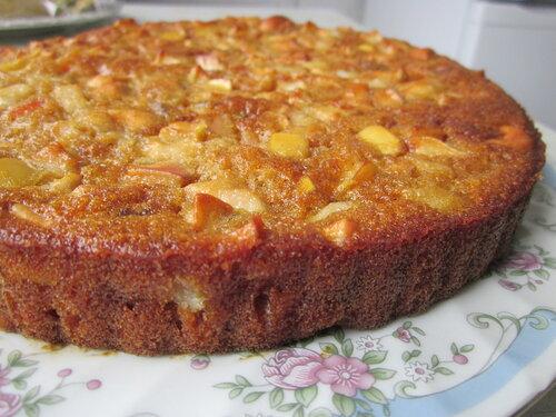 Простой фруктовый пирог рецепт