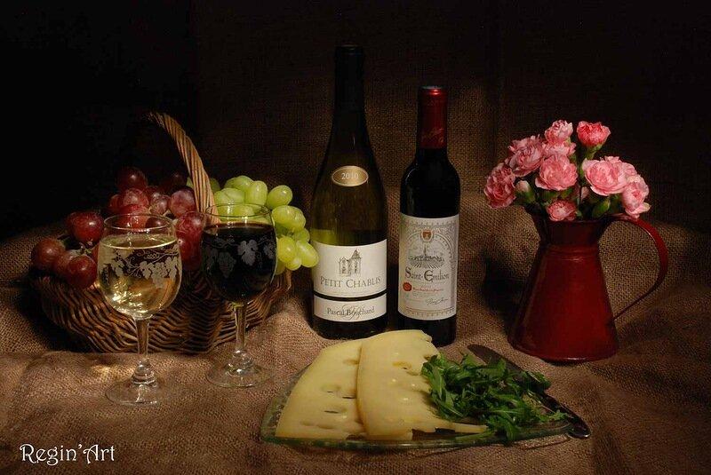 Открытки с вином и бокалами, очень красивая день