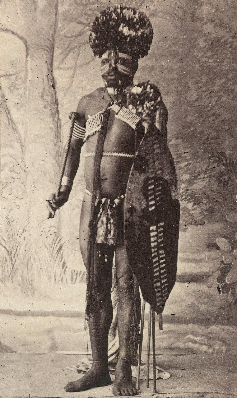 Зулус в свадебном одеянии