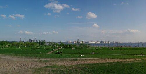 панорамное лето парка трехсотлетия