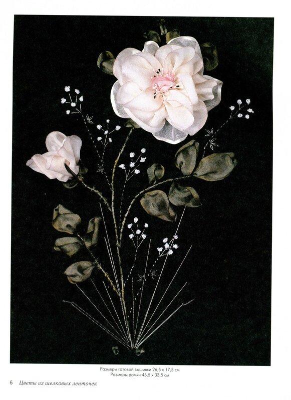 Картинки из ленточек цветы 3