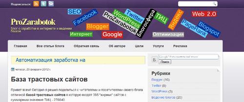 ProZarabotok.ru