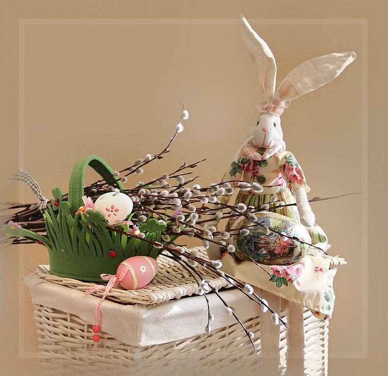 Привет всем пасхальным зайцам! :)