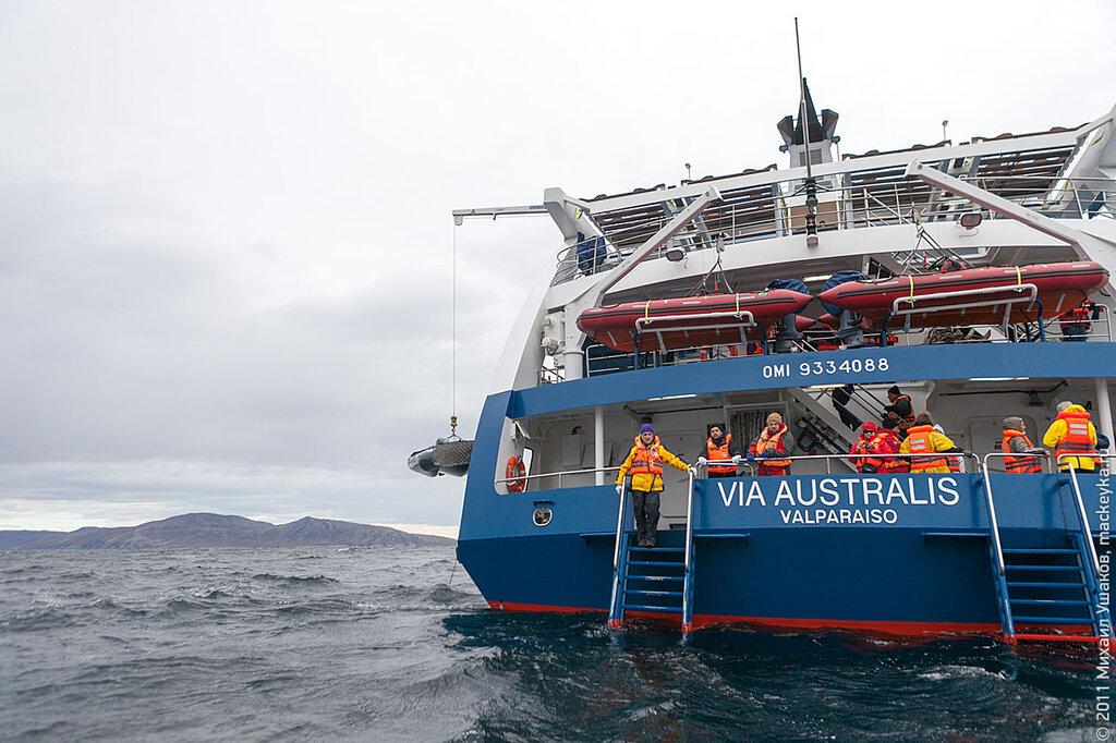 Корабль Via Australis