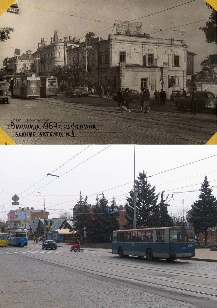 Винница. ул. Ленина (Соборная). 1964-2012.