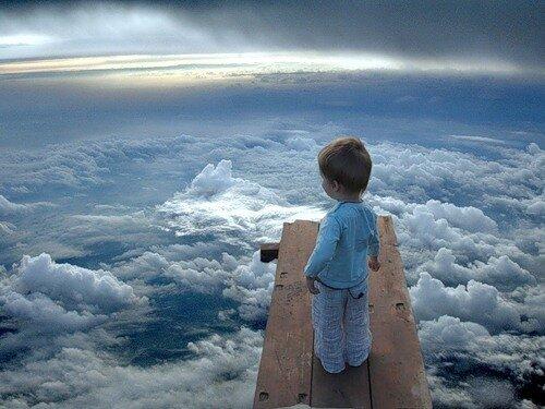 С высоты небесной на землю взирая...