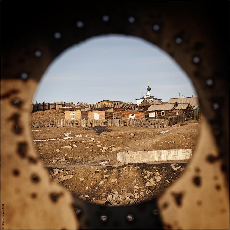 Байкал. Ольхон. Церковь в Хужире