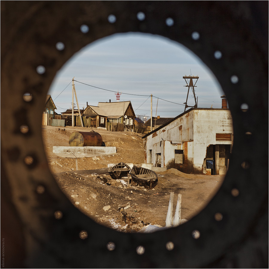 Байкал. Ольхон. Вид на Хужир