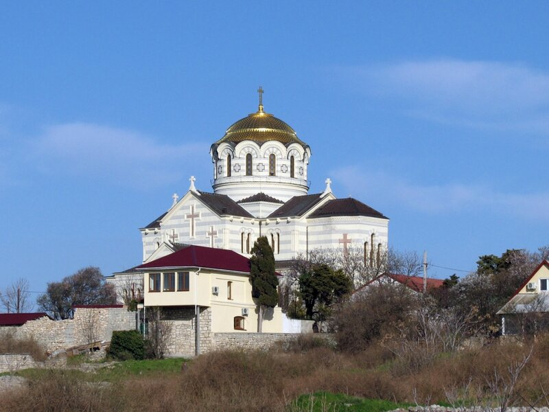 Владимирский собор в Херсонесе - наша цель