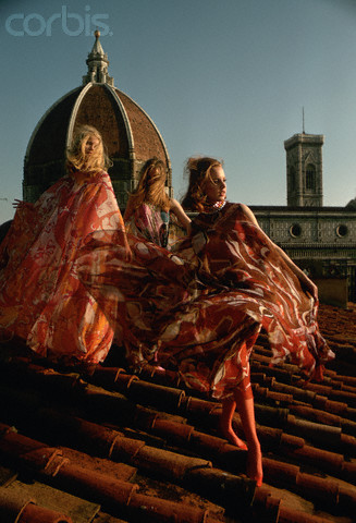 Women Modeling Pucci Clothes