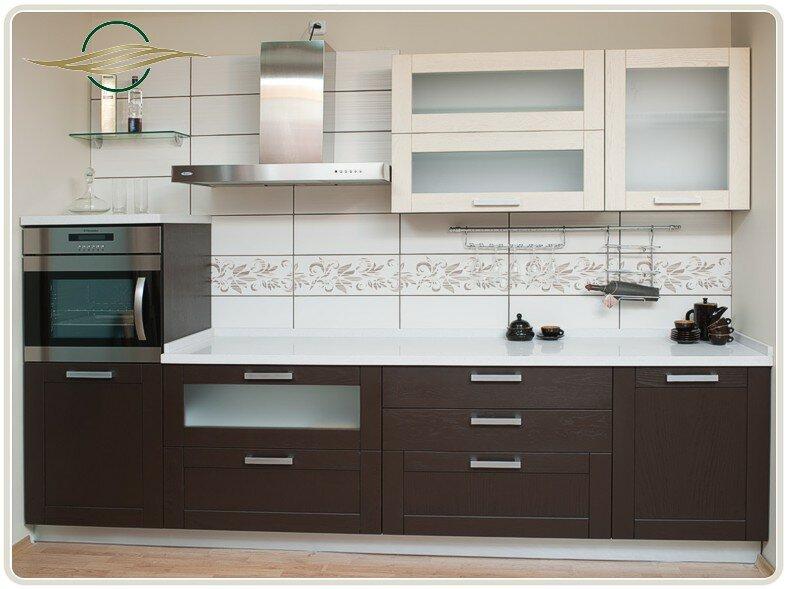 Дизайн кухни беленый дуб стильные