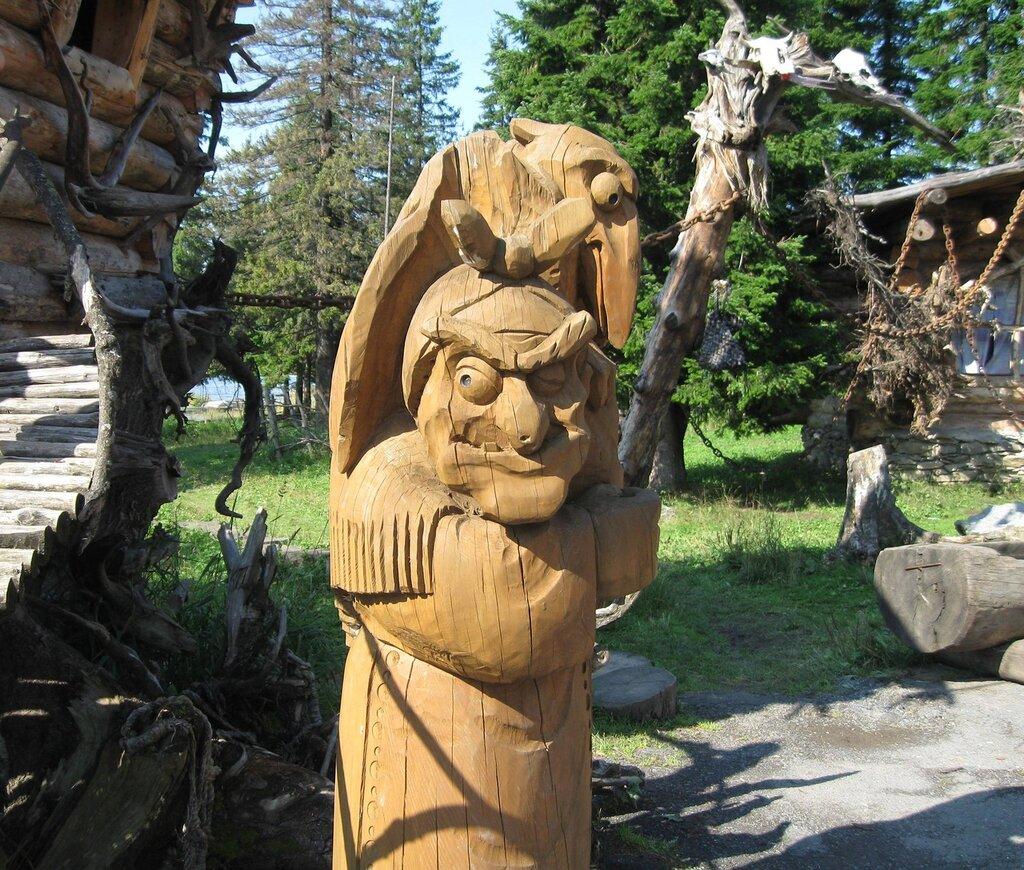 Баба-Яга и ворон