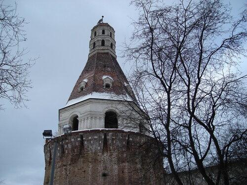 Солевая башня Симонова монастыря