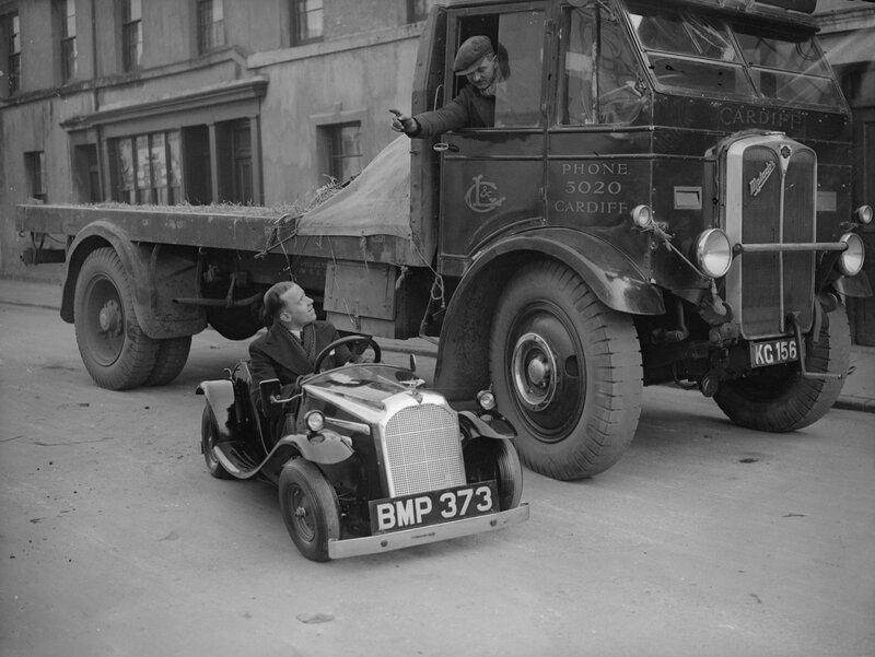 Midget Car In Cardiff
