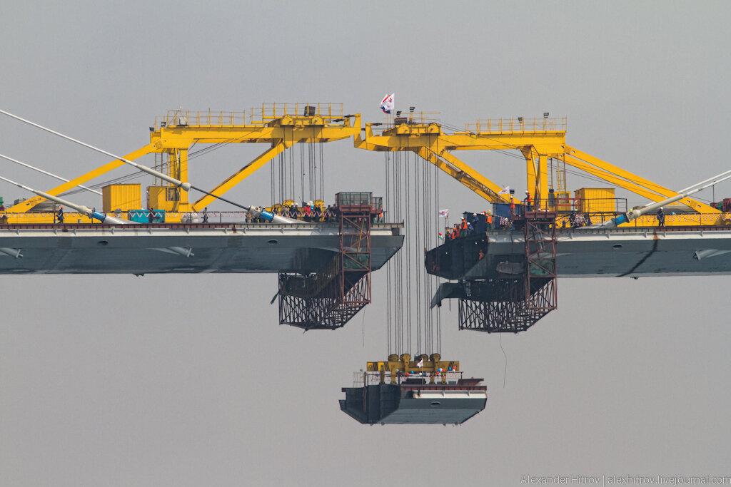 Моста через бухту золотой рог