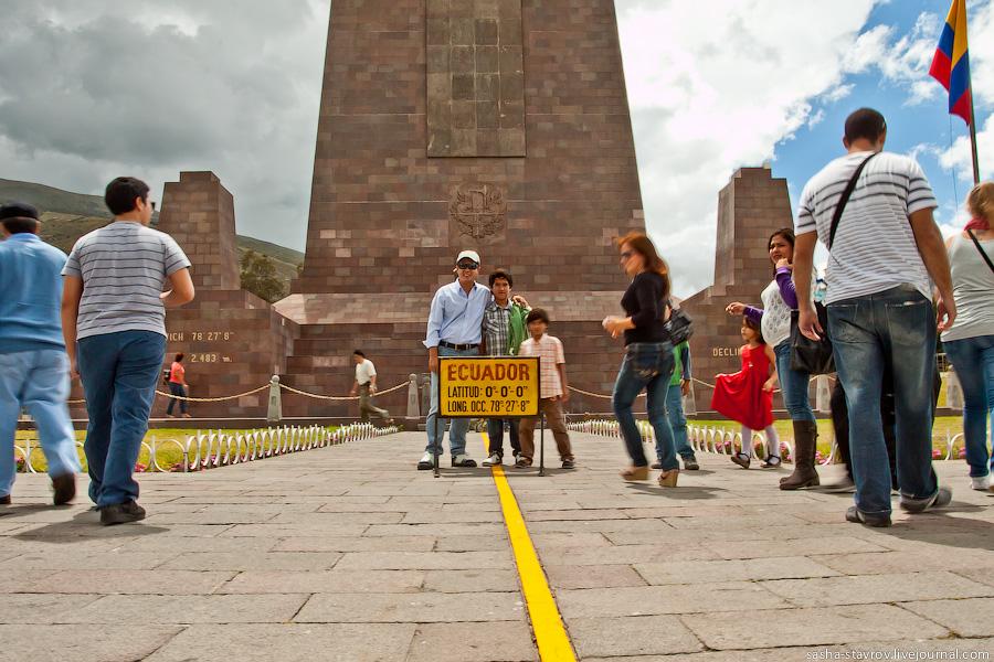 Anton_klyushev: столица эквадора, музей экватора