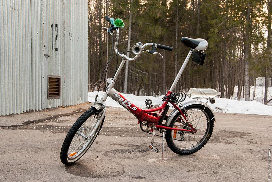 STELS велосипед фотография