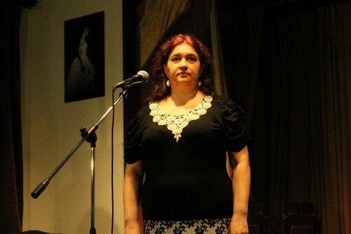 Ольга эль-Джеши.  Вечер, посвящённый Анне Марли в Бахрушинском музее 29 апреля 2015 года