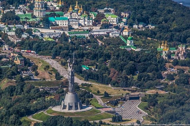 Красивые фотографии Киева с высоты птичьего полета 0 12d0e8 b53becdd orig