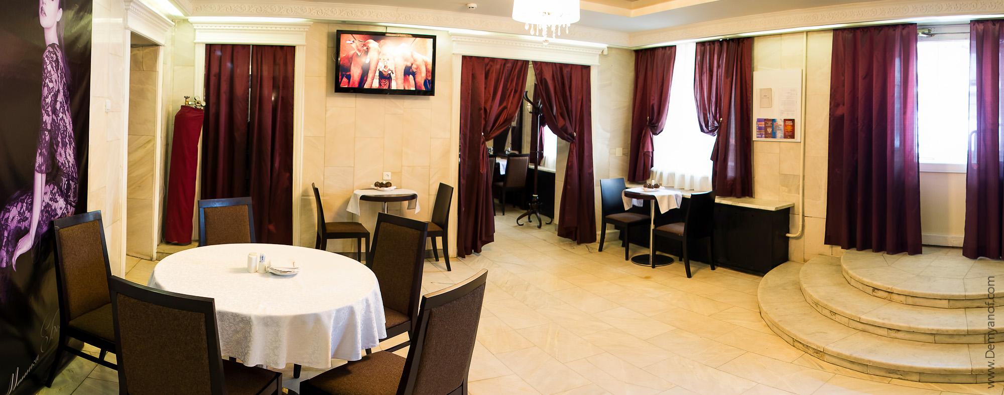 Первый зал - Итальянское кафе