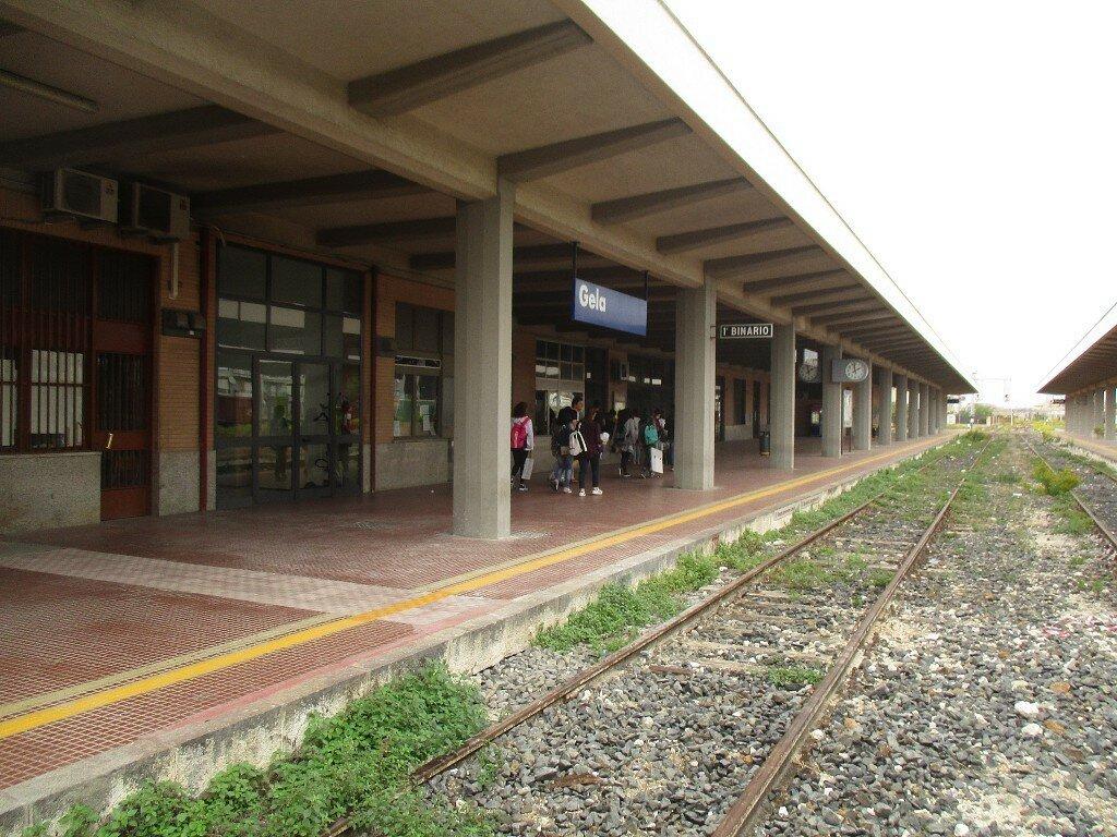 Jela. Railway station