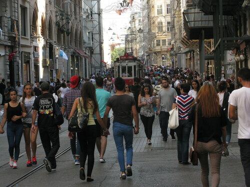 Транспорт Стамбула. Автор фото: Станислав Кривошеев