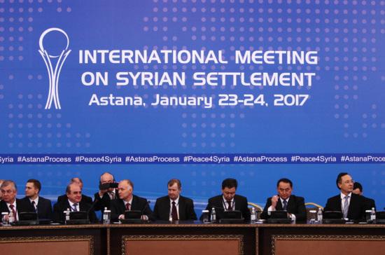 Посол Сирии в столице назвал дату следующих переговоров вАстане