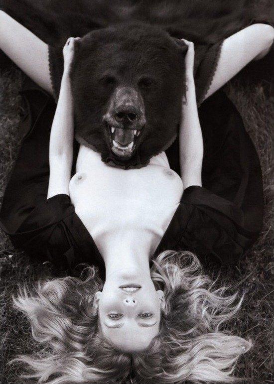 Секс с медведём 3 фотография