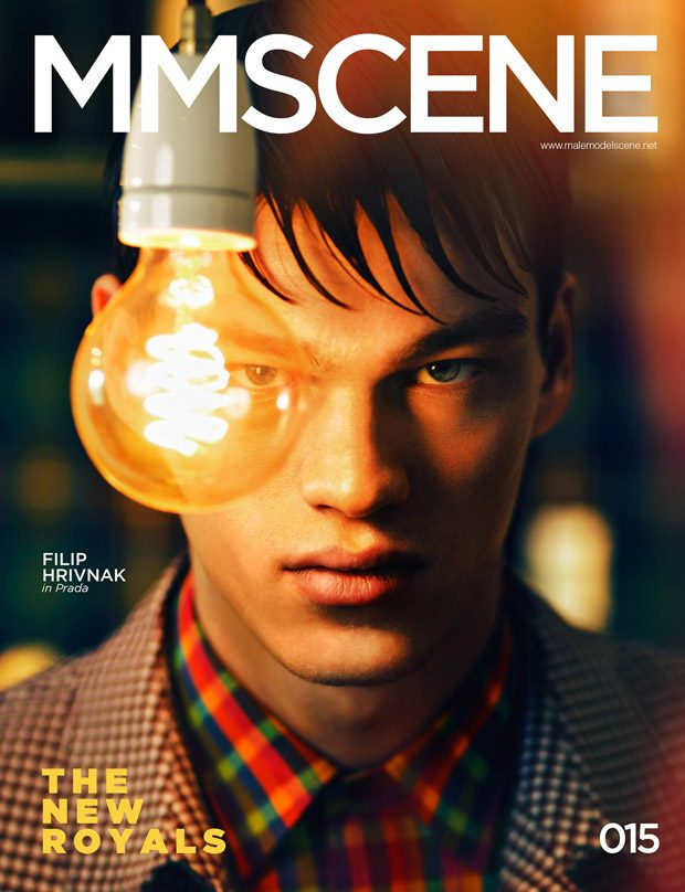 Filip Hrivnak is the Cover Star of MMSCENE Magazine The New Royals Issue