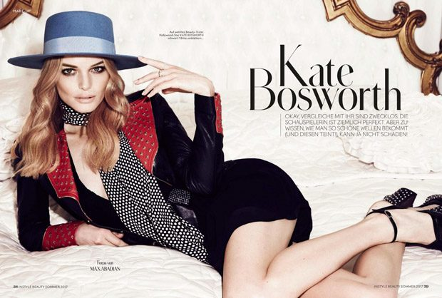 Kate Bosworth is the Cover Star of InStyle Germany Beauty Issue