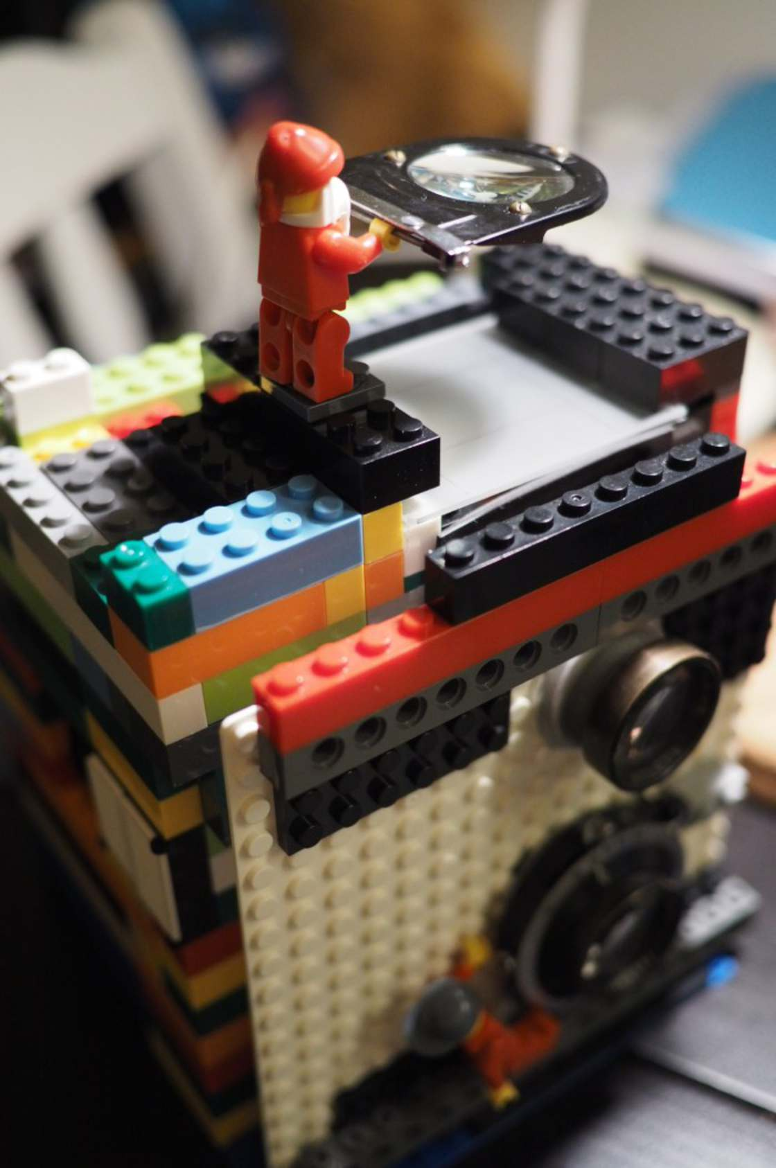 LEGO Camera - Photographer builds a functional LEGO camera