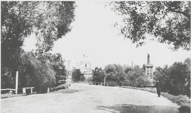 Белгородский пивзавод, вид с Шоссейной улицы, начало ХХ в.