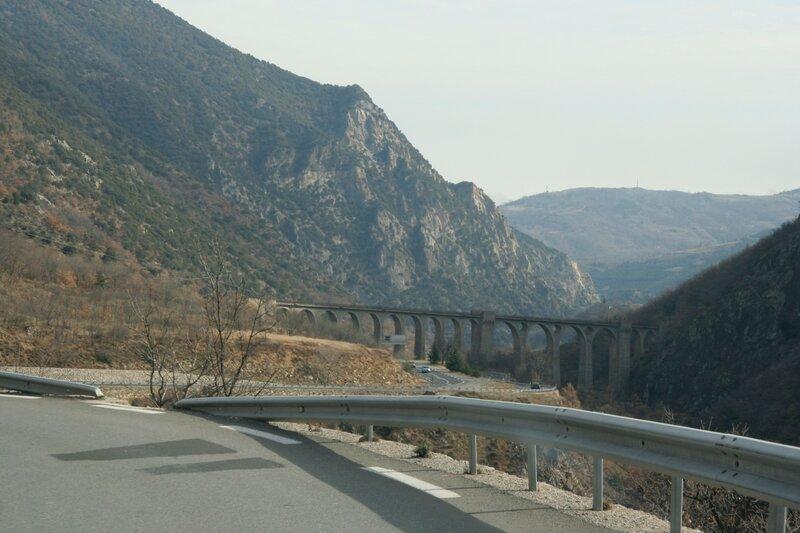 Виадук в Восточных Пиренеях