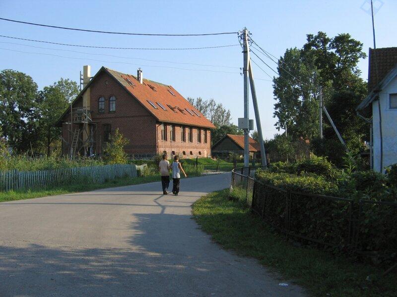 Дом пастора в поселке Рыбачий на Куршской косе