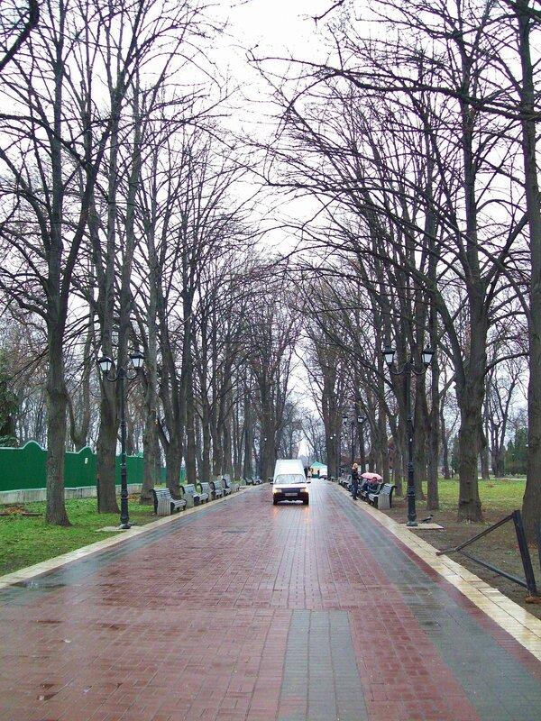 Аллея Мариинского парка