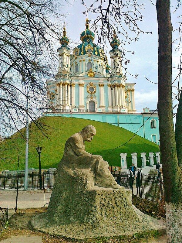 модель памятника