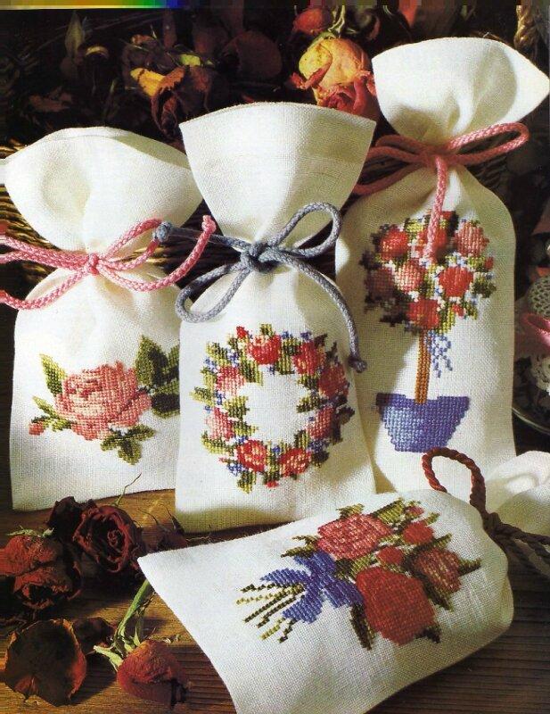 Мешочек силы.  Масло розовой герани, листья алоэ, душицу обыкновенную и плоды калины обыкновенной смешайте и положите...