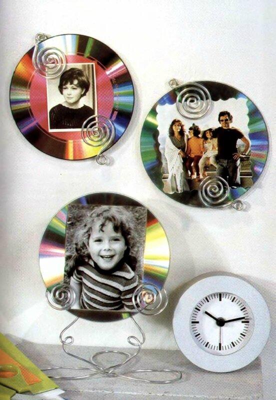 Как сделать из старых дисков своими руками