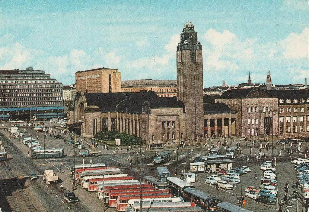 The Railway Station.