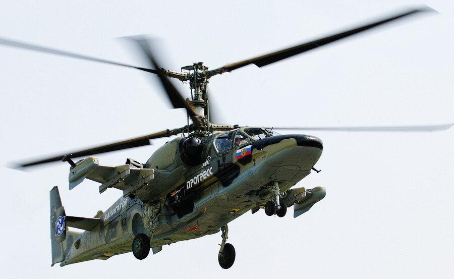 Конструкция - классическая соосная вертолетная схема.  Топливные баки протектированые и взрывобезопасные...