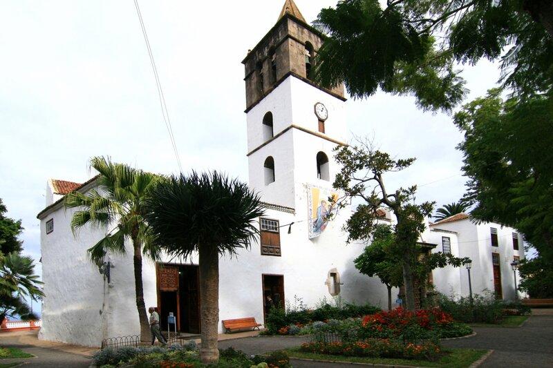 Тенерифе, достопримечательности Икод де Лос Винос