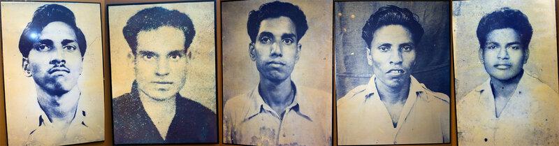 Активисты Azad Gomantak Dal, погибшие во время терактов